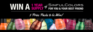 Enter to WIN a Years Supply