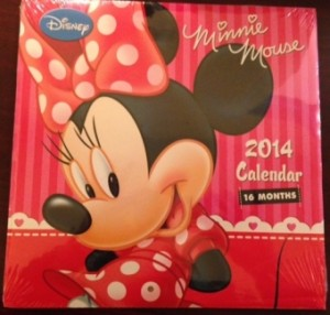 FREE Minnie Mouse 2014 Calendar