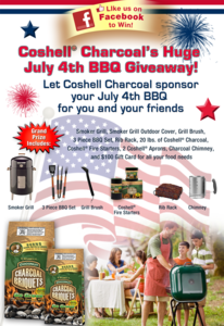 Coshell's July 4th BBQ Giveaway