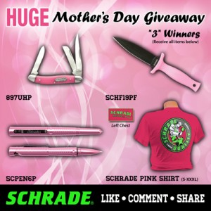 Huge 1-Day Mother's Day Giveaway - 3 Winners!!