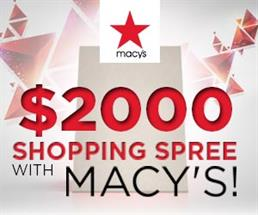 Swooosh - Macy's Shopping Spree Sweepstakes