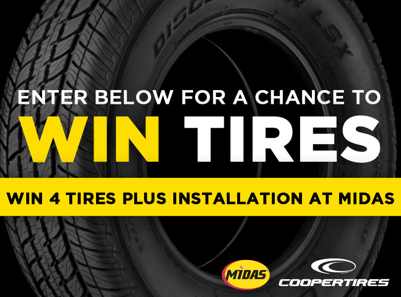 Win a Set of Tires from @Midas