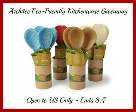 2 sets of Architec Serving Spoons Giveaway