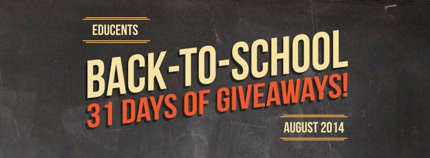 Educents 31 Days of Giveaways