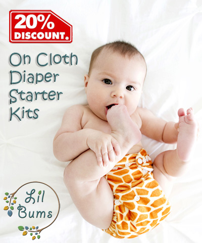 The Lil Bums Cloth Diaper Giveaway