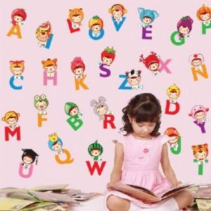 Alphabet Lettering