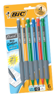 BIC Pencil Instant Win Game
