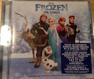 Disney's Frozen CD Giveaway