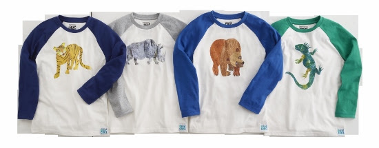 Gymboree's New Limited Edition Play & Sleepwear Collection Featuring the World of Eric Carle™