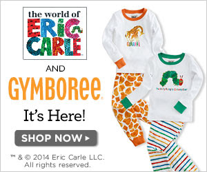 Gymboree's New Limited Edition Play & Sleepwear Collection Featuring the World of Eric Carle™1