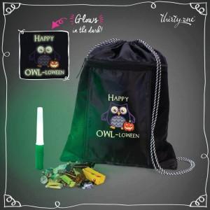 Owl-Loween Spirit Cinch Sac Giveaway
