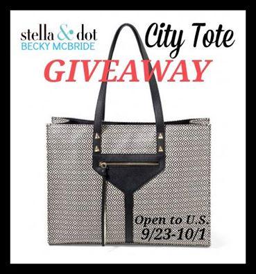 Stella&Dot City Tote Giveaway