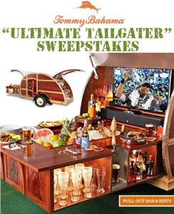 Tommy Bahama Ultimate Tailgater Sweepstakes