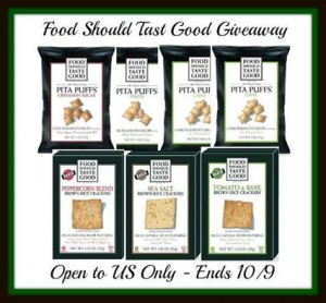 Food Should Taste Good Snacks Giveaway