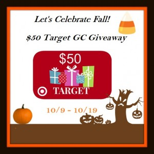 Let's Celebrate Fall Target GC Giveaway