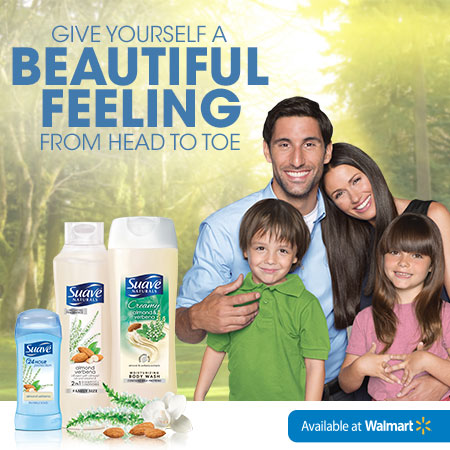 Beauty Tips, Specials, and More with Sauve at Walmart