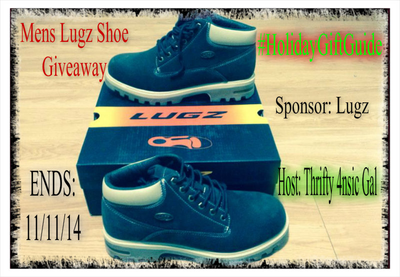 Lugz - Mens Empire WR Shoe #GiftGuide Giveaway. Ends 11/11.