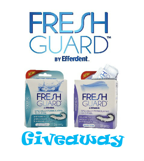 New Fresh Guard™ by Efferdent™ Gift Pack Giveaway