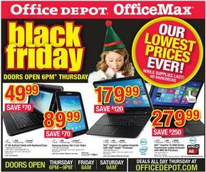 Office Depot #Blackfriday Ad
