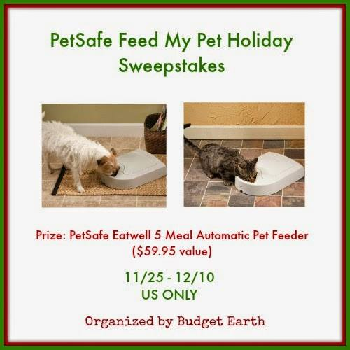 PetSafe Feed My Pet Holiday Sweepstakes
