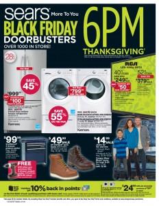 Sears #BlackFriday Ad
