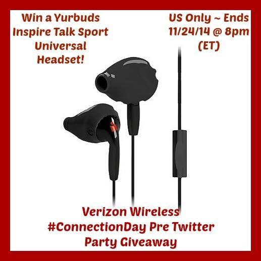 Yurbuds Inspire Talk Sport Universal Headset Giveaway