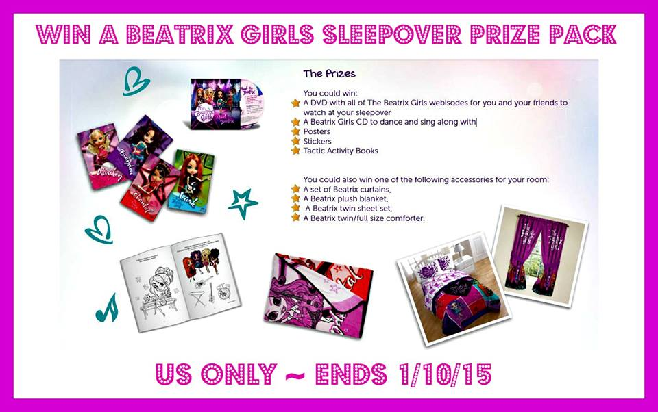 A Beatrix Girls Sleepover Prize Pack Giveaway