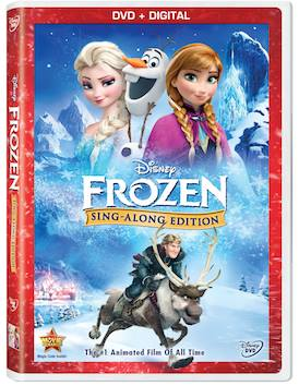 All-New to DVD Frozen Sing-Along Edition Giveaway
