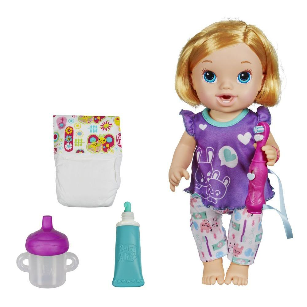 Baby Alive Brushy Brushy Baby Doll Review