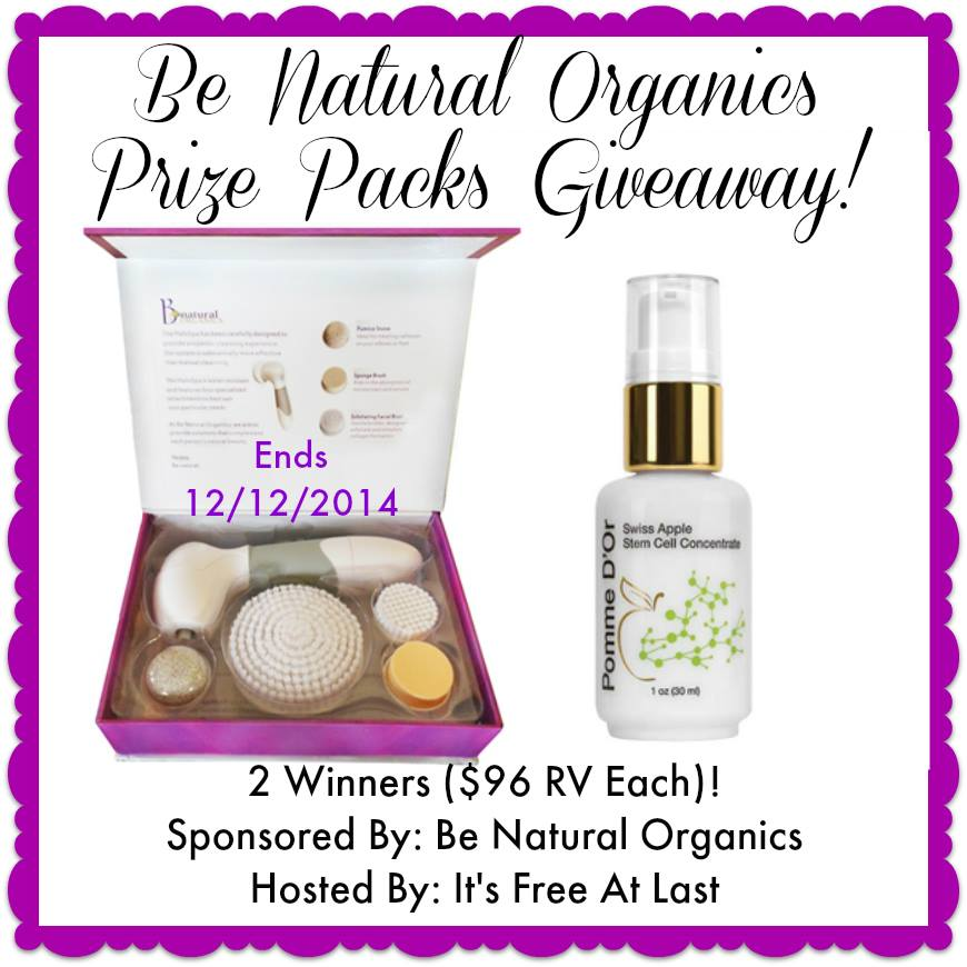 HaloSpa Facial Cleansing Brush & Pomme D'Or Swiss Apple Stem Cell Concentrate Giveaway