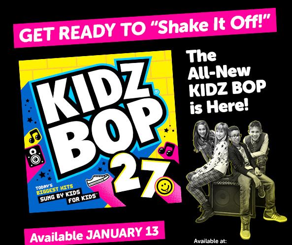 KIDZ BOP 27 Available Everywhere January 13th