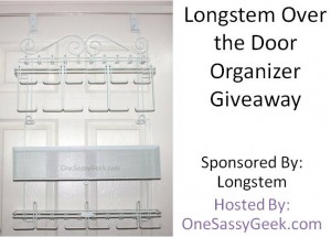 Longstem Over the Door Organizer Giveaway