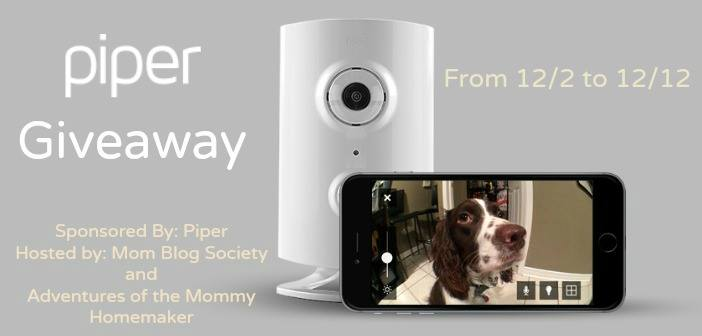 Piper Home Monitoring System Giveaway