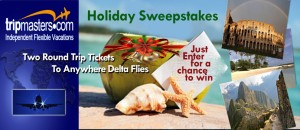 Trip Masters Delta Round Trip Tickets for Two Sweepstakes