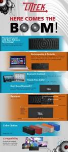 Liztek PSS-100 #PortableWirelessBluetoothSpeaker with Built in Speakerphone Review 1