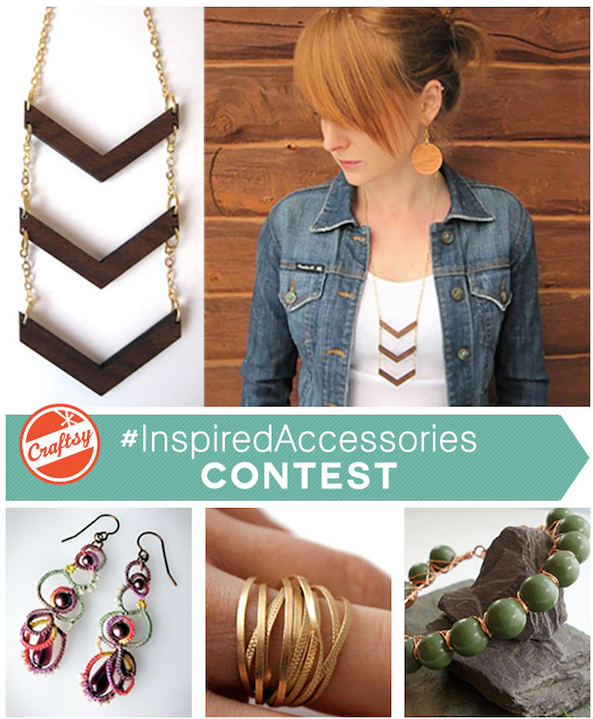 Enter to WIN Craftsy's #InspiredAccesories Contest