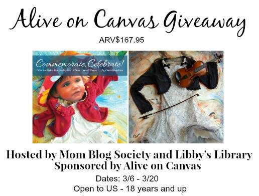 Alive on Canvas Giveaway