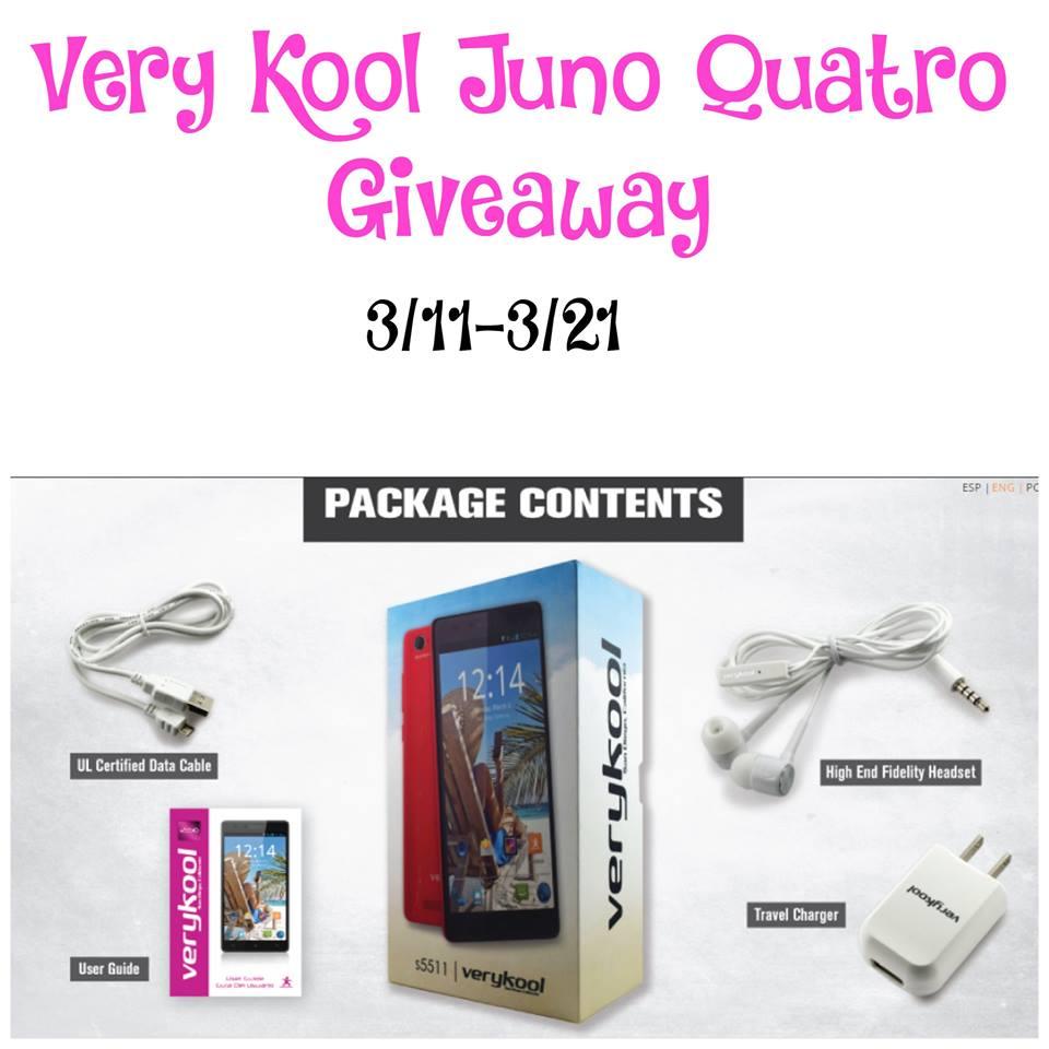 VeryKool Juno Quatro Giveaway