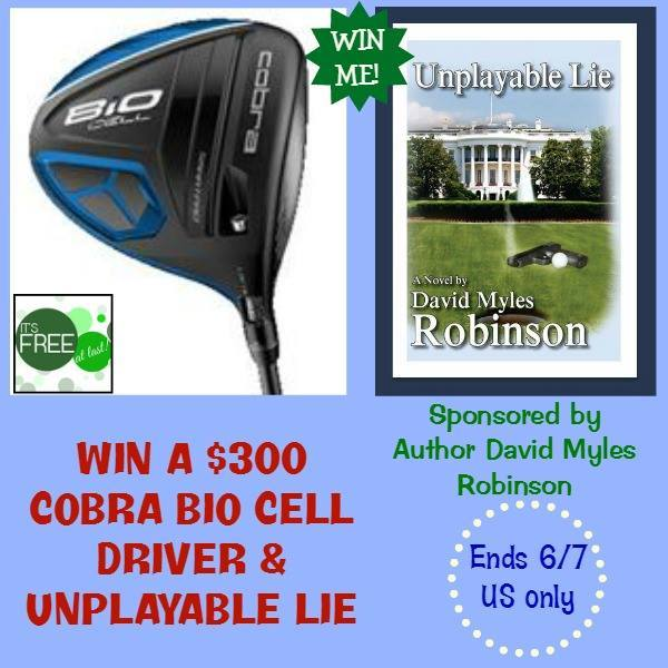 Cobra Bio $300 Cell Golf Driver and Unplayable Lie Book Sweepstakes