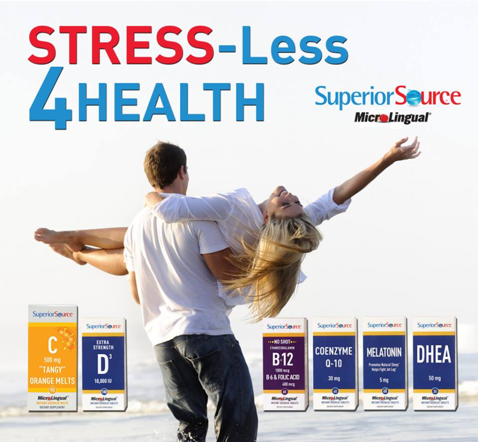 Superior Source Vitamins April Health Prize Pack