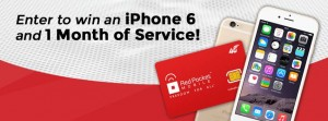 Enter to Win an iPhone 6 an 1 Month of Service Sweepstakes