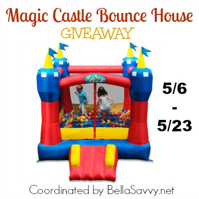 Magic Castle Bounce House Giveaway ends 5/23