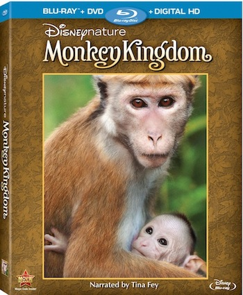 MONKEY KINGDOM on Blue-ray Combo Pack September 15th