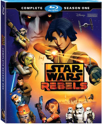 Star Wars Rebels – Complete Season One on Blu-ray and DVD September 1st