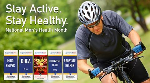 Superior Source Vitamin Mens Health Prize Pack Giveaway