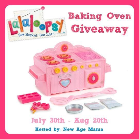 Lalaloopsy Baking Oven Giveaway