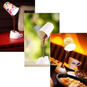 Magic Floating Pouring Coffee Cup Desk Lamp - $6.50 FREE SHIPPING!