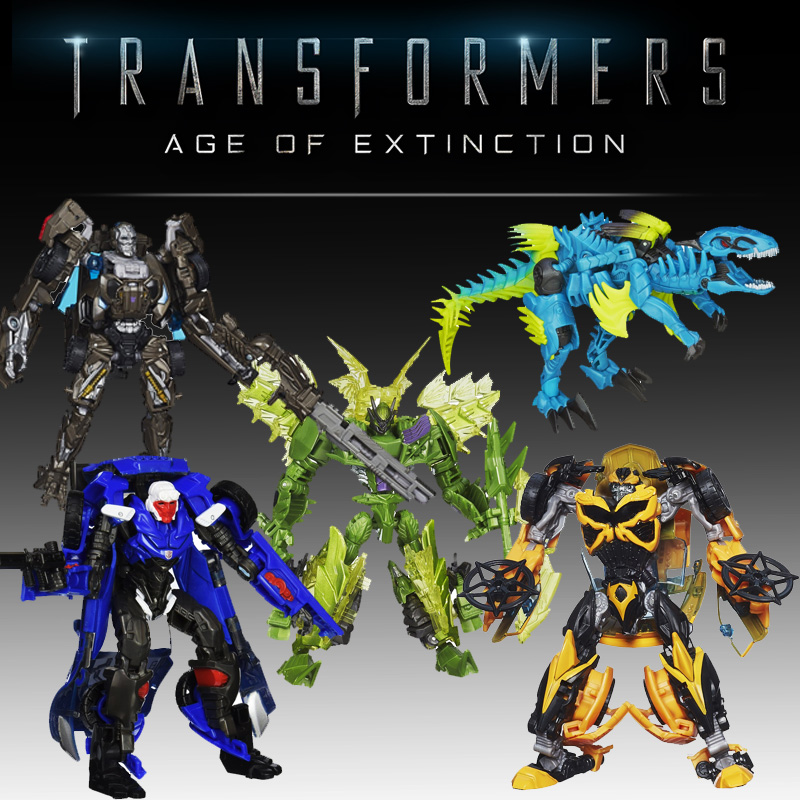 Transformers Age of Extinction Generations Deluxe Class Figures - $8.98 FREE SHIPPING!
