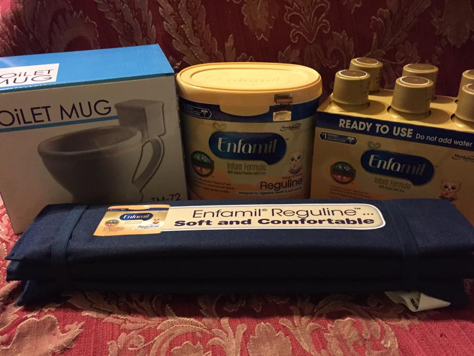 Enfamil® Reguline™ for the Occasional Uncomfortable Stooling