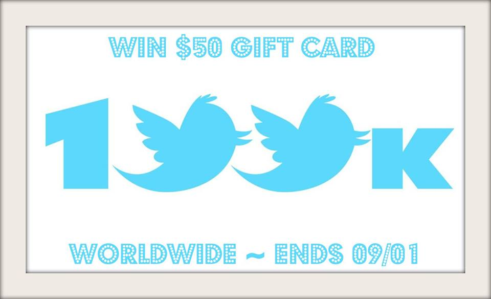Choice of $50 Gift Card Giveaway - 2 WINNERS!